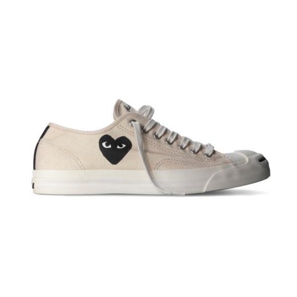 7b5dfe183ae9c9 Comme des Garcons Shoes - COMME des GARCONS PLAY x Converse Jack Purcell CDG